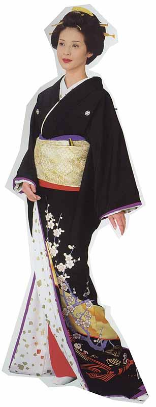 Susohiki kimono